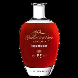 Excellent&Rare Premium Rum Platinum Edition